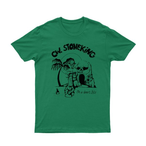 On a Desert Isle Green Tshirt