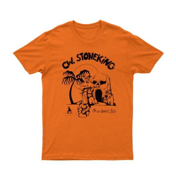 On a Desert Isle Orange Tshirt