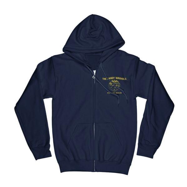 Portland Badge Navy Hoody