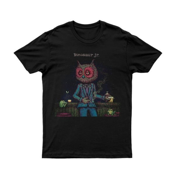 Owl Man Black Tshirt