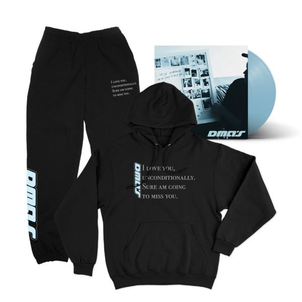 THE EP BUNDLE #4 I Love You Unconditionally EP (Blue Vinyl)/Hoodie/Trackpants