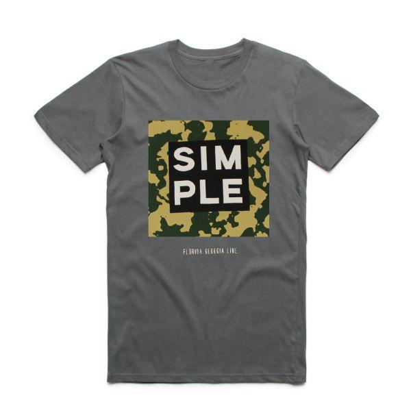 Simple Charcoal Tshirt