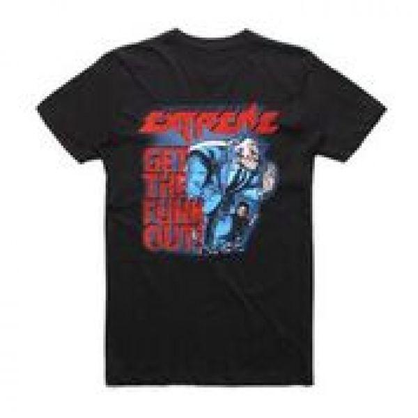 GTFO Black Tshirt w/dateback