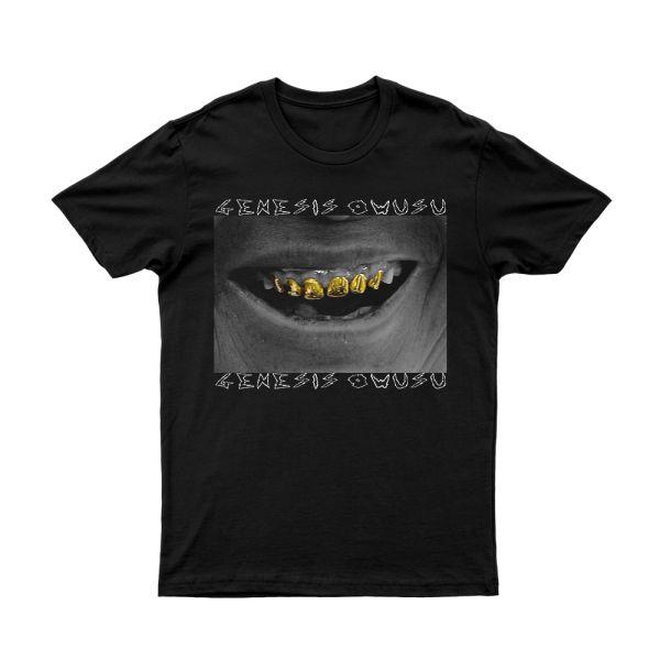 Gold Teeth Black Tshirt