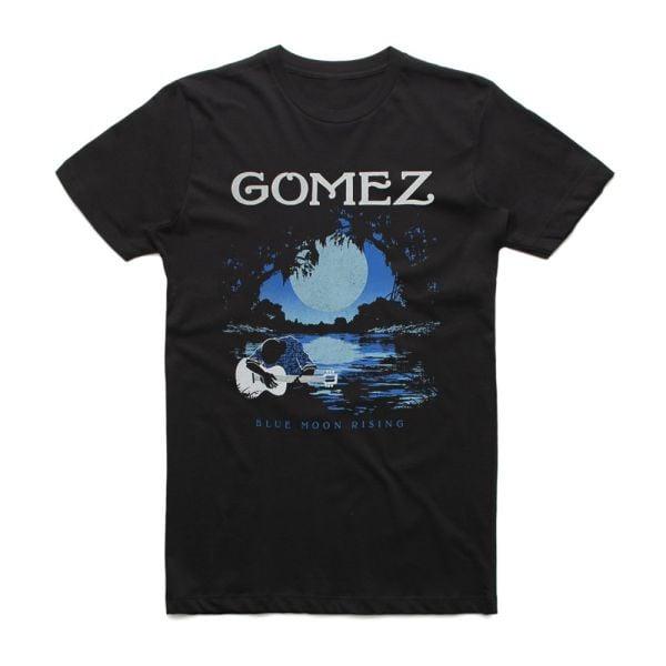 Blue Moon Rising Australian Tour Black Shirt w/dateback
