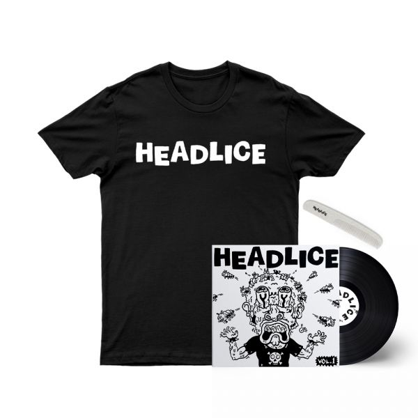 "Headlice Black /Vol 1 - 7"" Single/Comb"