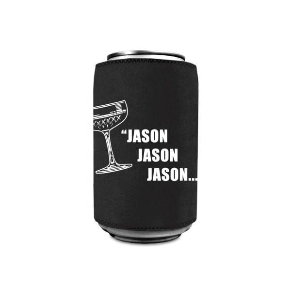 Jason, Jason, Jason Stubby Holder