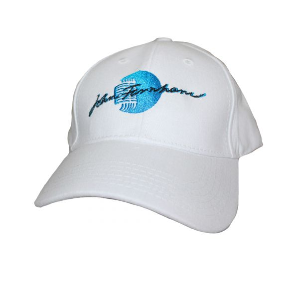 White Dad Cap Microphone