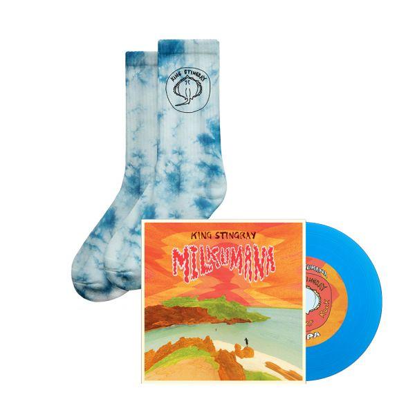 "Milkumana 7"" Blue Vinyl/ Milkumana Socks"