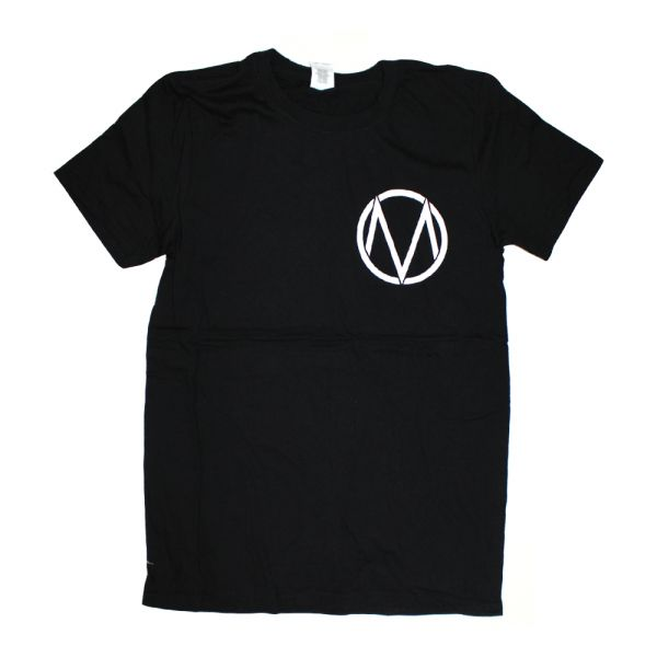 Pocket Logo/Letters Black Tshirt