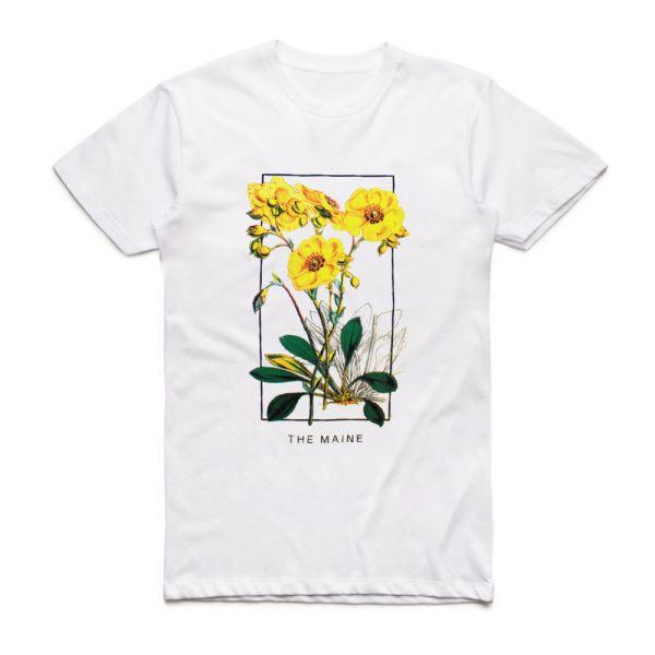 Desert Flowers White Tshirt