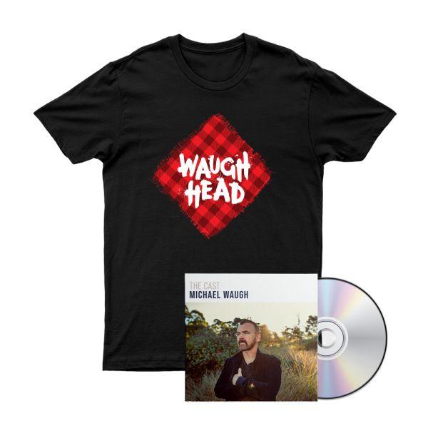 Bundle 1 - The Cast CD, Waugh Head Tshirt