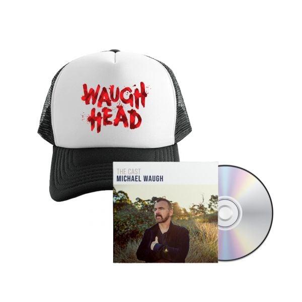 Bundle 2 - The Cast CD , Waugh Head Cap