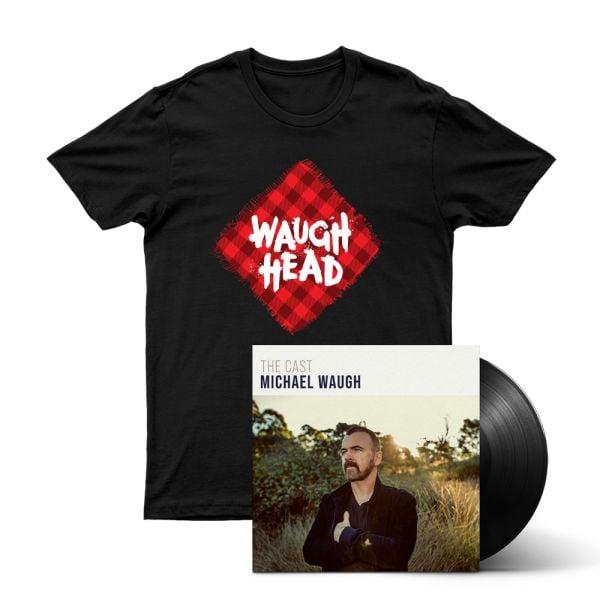 Bundle 4 - The Cast (LP) Vinyl, Waugh Head Tshirt