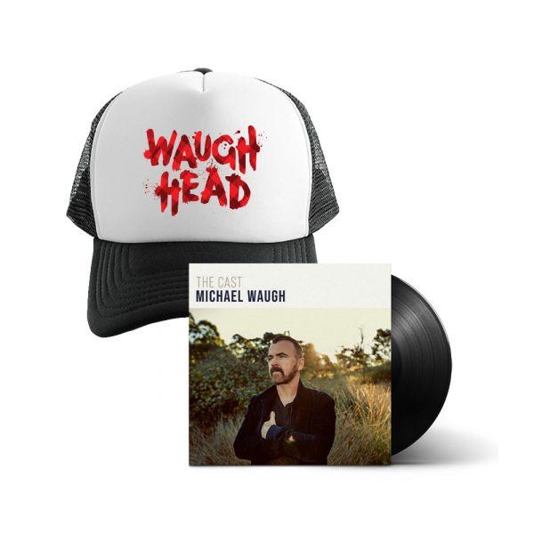 Bundle 5 - The Cast (LP) Vinyl And Waugh Head Cap