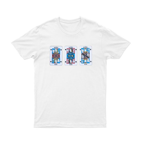 Playing cards White Tee