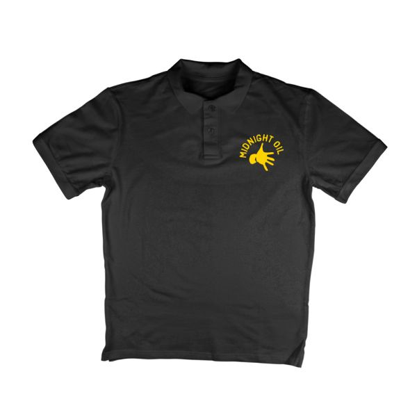 Pocket Hand Black Polo The Great Circle 2017 Tour