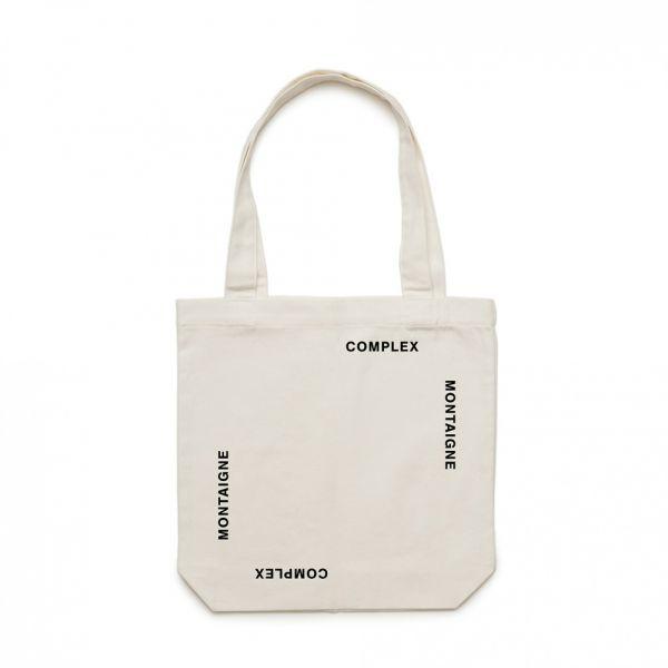 Tote Bag Complex White