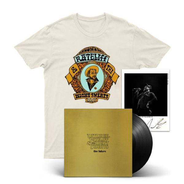 THE FUTURE (LP) BLACK VINYL/ SIGNED PRINT/ PORTRAIT NATURAL TSHIRT