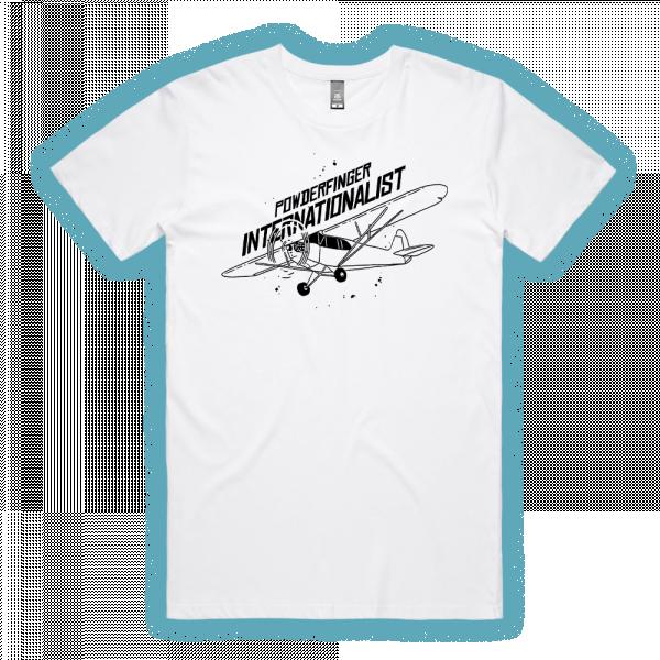 Internationalist White Unisex Tshirt