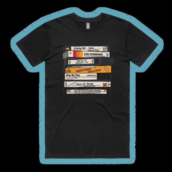 VHS Black Tshirt