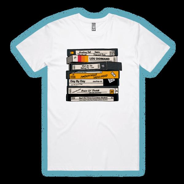 VHS White Tshirt