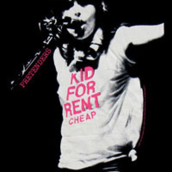 Kid For Rent Black Ladies Tshirt