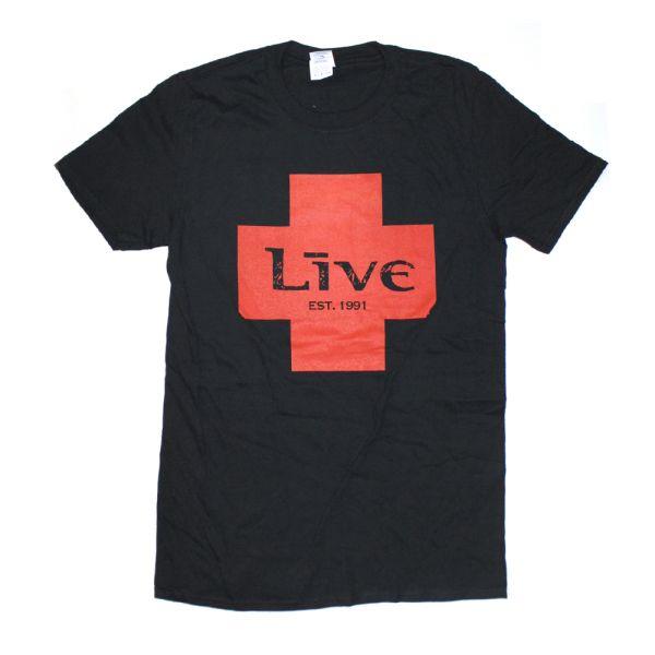 Red Cross Black Tshirt Australian Tour 2018