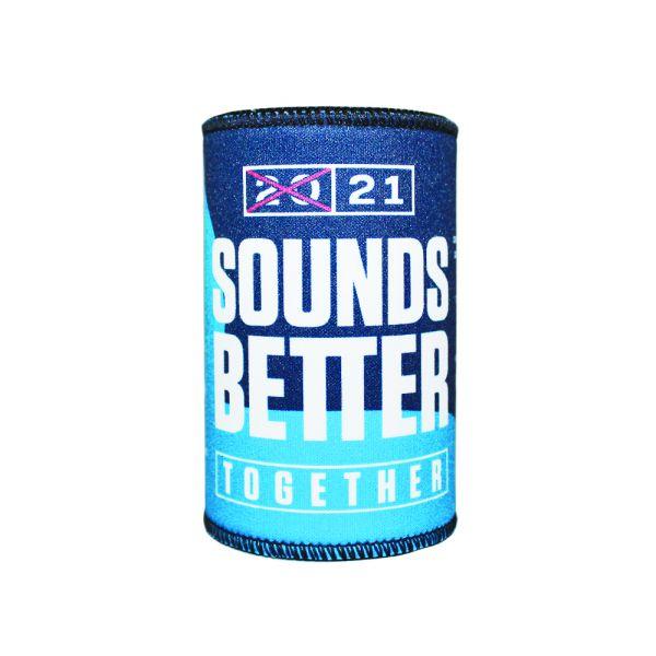 Sounds Better Together Stubby Holder