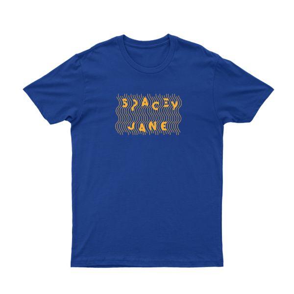 Lines Royal Blue Tshirt