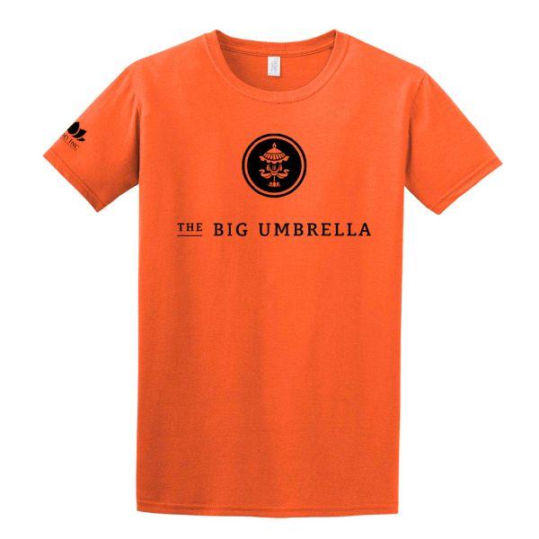 Black Logo Orange Tshirt