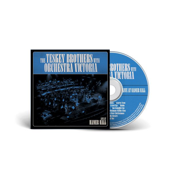 The Teskey Brothers with Orchestra Victoria - Live at Hamer Hall CD