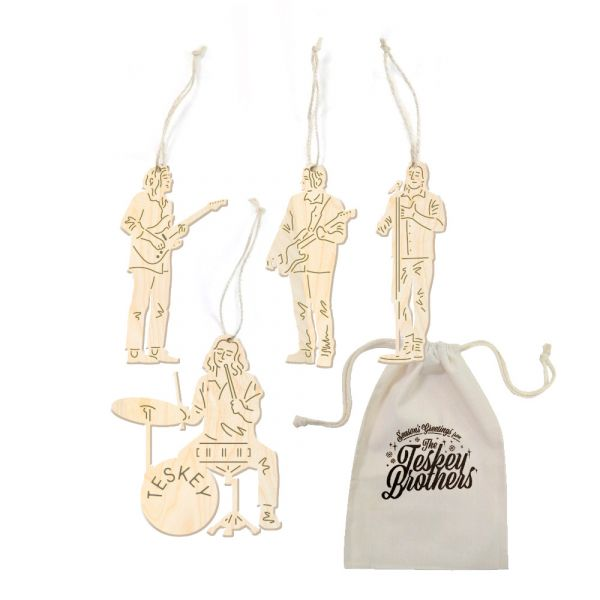 ORNAMENTS ( 4 PACK)