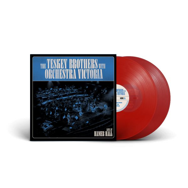 The Teskey Brothers with Orchestra Victoria - Live at Hamer Hall 2LP (Red Vinyl)