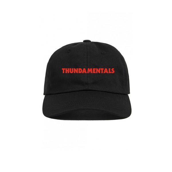 Black Cap Thundamentals Text