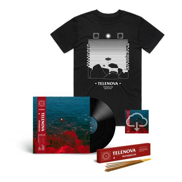 TRANQUILIZE - EP (Vinyl) + INCENSE + TRANQUILIZE BLACK TSHIRT + Digital Download