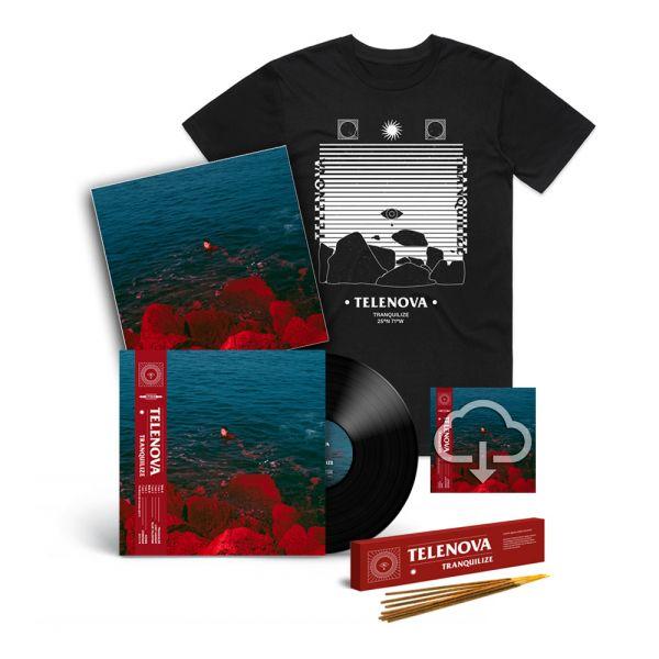 TRANQUILIZE - EP (Vinyl) + INCENSE + TRANQUILIZE BLACK TSHIRT + LIMITED EDITION PRINT + DIGITAL DOWNLOAD