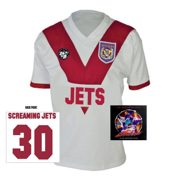 All For One - 30 Year Anniversary Edition Jersey (White/Red) + CD