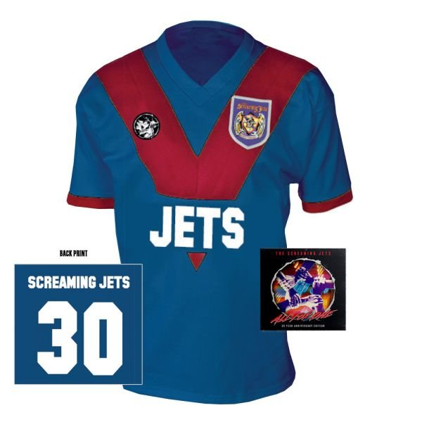 All For One - 30 Year Anniversary Edition Jersey (Blue/Red) + CD