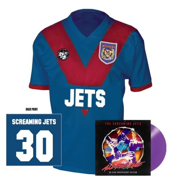 All For One - 30 Year Anniversary Edition Jersey (Blue/Red) + Purple Vinyl