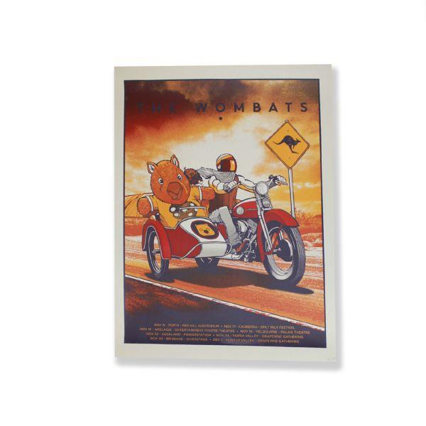 Screen Printed Poster