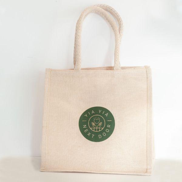 Tote Bag - Eco Jute Natural