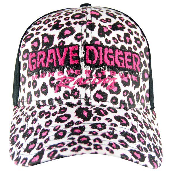 Grave Digger Ladies Cheetah Cap