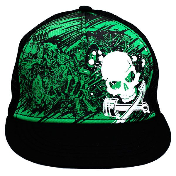 Grave Digger Youth Collage Cap