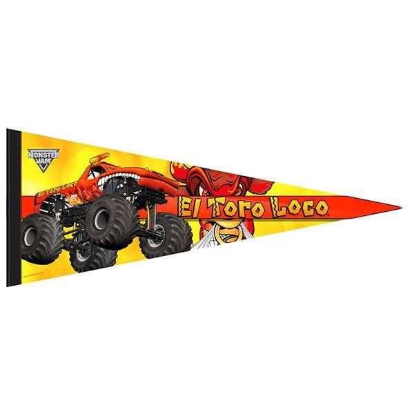 El Toro Loco Orange Flag