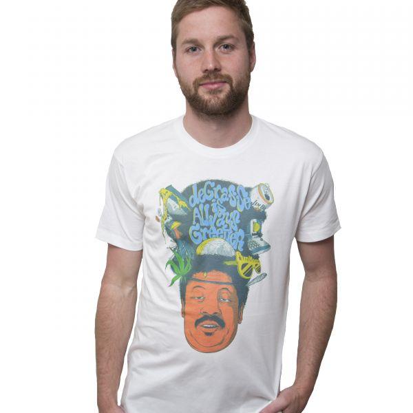Brayden Doig Degrasse Is Always Greener Collab White T Shirt