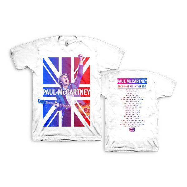 Cheers White Dateback Tshirt One On One World Tour 2017