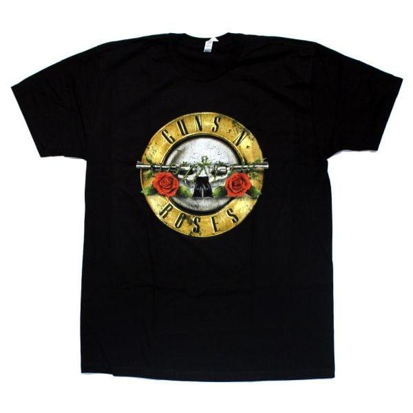 Distressed Classic Bullet Logo Black