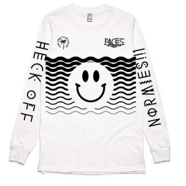 Heck Off White Longsleeve Tshirt