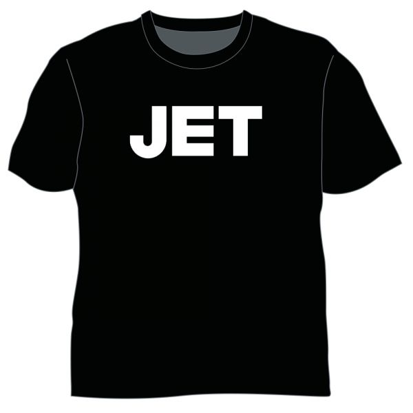 Classic Logo Black Tshirt w/dateback